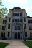 La fortaleza de Albertson Pasillo hace heno la universidad de estado Foto de archivo