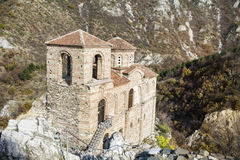 La fortaleza de Asen en Asenovgrad, Bulgaria Fotos de archivo