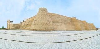 La fortaleza de Bukhara foto de archivo