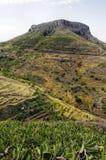 La Fortaleza de Chipude, La Gomera Stock Photo