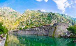 La fortaleza de Kotor Fotos de archivo libres de regalías