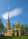 La fortaleza de Peter y de Paul en St Petersburg. fotos de archivo
