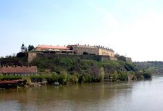 La fortaleza de Petrovaradin, Novi Sad Fotografía de archivo