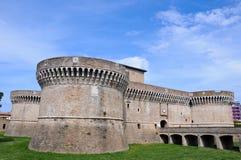 La fortaleza de Rocca Roveresca está situada en Senigallia Imagen de archivo libre de regalías