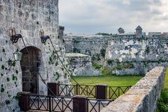 La Fortaleza de San Carlos de la cabana in Havana, Cuba Stock Image