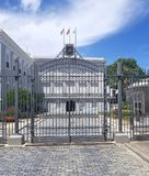 La Fortaleza & x28;The Fortress& x29; is the official residence of the Gov. Ernor of Puerto Rico. It was built 1533-1540 to defend the harbor of San Juan stock photography