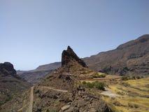 La Fortaleza on Gran Canaria stock photography