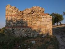 La fortaleza medieval de Mezek (Bulgaria) Foto de archivo