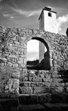 La fortaleza medieval vieja Foto de archivo libre de regalías