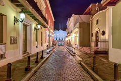 La Fortaleza - San Juan Arkivbild