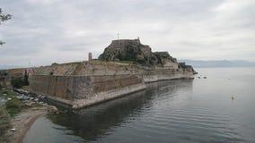 La fortaleza vieja Corfú Foto de archivo
