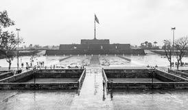 La fortaleza vietnamita protege a Hue City Fotos de archivo