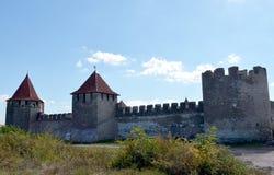 La forteresse à la cintreuse, le Transnistrie photos stock