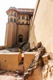 La forteresse construite sur la montagne Amer Fort Fort ambre Photographie stock libre de droits