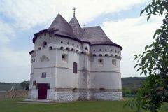 La forteresse d'église de Pokrova est une structure architecturale unique photo libre de droits
