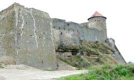 La forteresse de Bilhorod-Dnistrovskyi est un monument historique et architectural XIV des siècles pays Ukraine photographie stock libre de droits