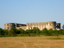 La forteresse de Borgholm Photo stock