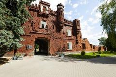 La forteresse de Brest Photo stock