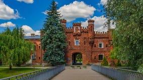 La forteresse de Brest, Belarus images libres de droits