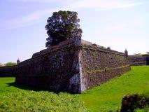 La forteresse de château de Valenca font Minho, Portugal Images libres de droits