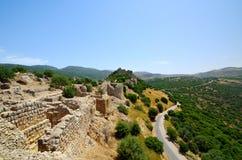 La forteresse de Nimrod Image libre de droits