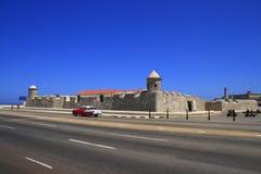 La forteresse de San Salvador de la Punta Photographie stock libre de droits