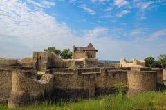 La forteresse de Seat de Suceava Photos stock