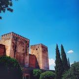 La forteresse intérieure Images stock