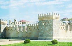 La fortezza è stata costruita sotto il vecchio Immagine Stock Libera da Diritti