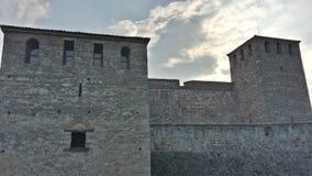 La fortezza Baba Vida in Vidin, Bulgaria immagini stock libere da diritti