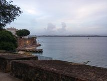 La fortezza da un altro angolo Fotografie Stock Libere da Diritti
