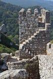 La fortezza del moorish nel Portogallo Immagini Stock Libere da Diritti