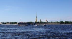 La fortezza del Paul e del Peter Fotografia Stock