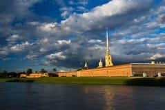 La fortezza del Paul e del Peter, St Petersburg Immagini Stock Libere da Diritti