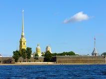 La fortezza del Paul e del Peter a St Petersburg Fotografia Stock