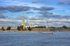 La fortezza del Paul e del Peter, St Petersburg immagine stock libera da diritti