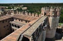 La fortezza della coca (alto angolo) Immagini Stock Libere da Diritti