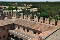 La fortezza della coca (alto angolo) Fotografie Stock Libere da Diritti