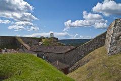 La fortezza dentro halden (parete divisoria orientale) Fotografie Stock