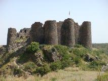 La fortezza di Amberd in Armenia immagini stock