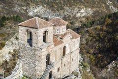 La fortezza di Asen a Asenovgrad, Bulgaria Immagine Stock