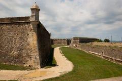 La fortezza di Figueres Catalogna Fotografie Stock Libere da Diritti