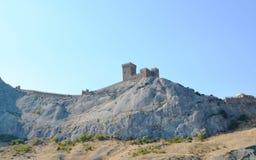 La fortezza di Genova Immagini Stock Libere da Diritti
