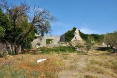 La fortezza di Karlobag, Croazia fotografia stock