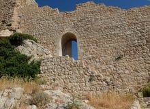 La fortezza di Kritinia fotografie stock