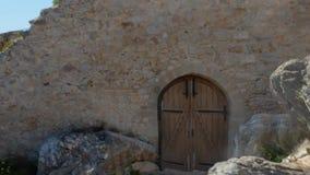 La fortezza di Kritinia video d archivio
