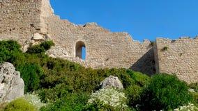 La fortezza di Kritinia stock footage