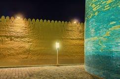 La fortezza di sera immagini stock