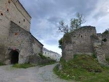 La fortezza di vecchia città in Kamenetz-Podol'sk immagini stock
