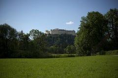 La fortezza Hohensalzburg immagine stock libera da diritti